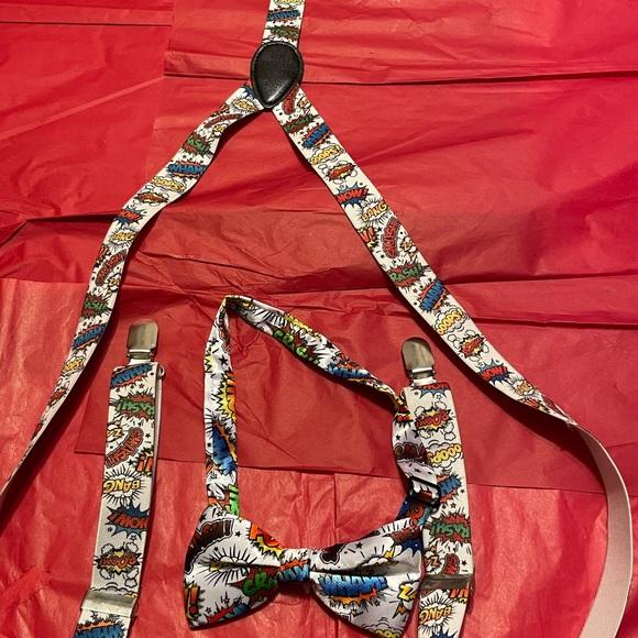 DC Comics Batman Clip Art Suspenders And Bow Tie..